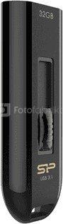 SILICON POWER 32GB, USB 3.0 FLASH DRIVE, BLAZE SERIES B21, BLACK
