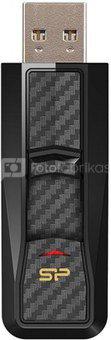 SILICON POWER 32GB, USB 3.0 FLASH DRIVE, BLAZE SERIES B50, BLACK