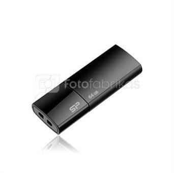 SILICON POWER 4GB, USB 2.0 FLASH DRIVE ULTIMA U05, BLACK
