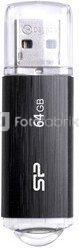 SILICON POWER 64GB, USB 2.0 FLASH DRIVE, ULTIMA U02, BLACK