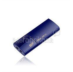 SILICON POWER 64GB, USB 3.0 FlASH DRIVE, BLAZE SERIES B05, DEEP BLUE