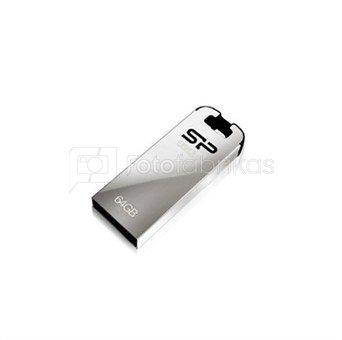 SILICON POWER 64GB, USB 3.0 FlASH DRIVE, Jewel J10, BLACK