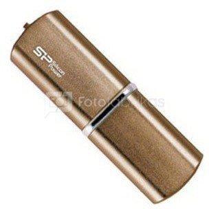 SILICON POWER 8GB, USB 2.0 FLASH DRIVE LUXMINI 720, BRONZE