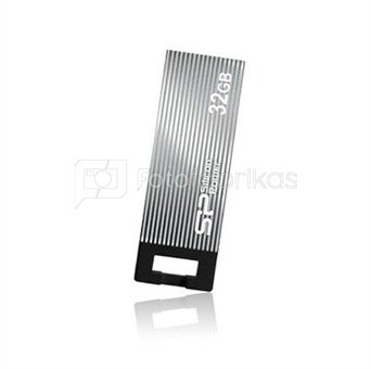 SILICON POWER 8GB, USB 2.0 FLASH DRIVE TOUCH 835, Iron Gray