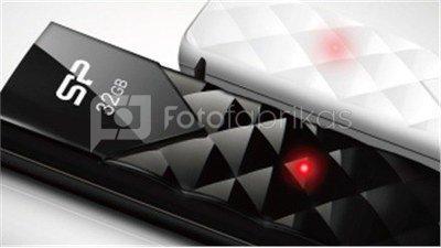 SILICON POWER 8GB, USB 2.0 FLASH DRIVE ULTIMA U03, BLACK