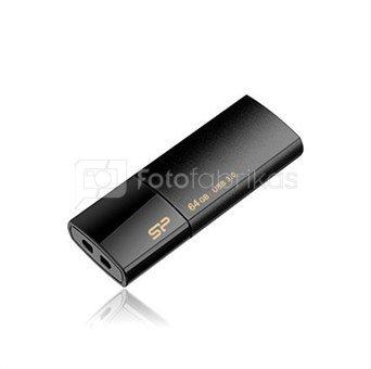 SILICON POWER 8GB, USB 3.0 FlASH DRIVE, BLAZE SERIES B05, BLACK