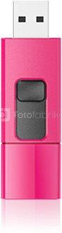 SILICON POWER 8GB, USB 3.0 FLASH DRIVE, BLAZE SERIES B05, PEACH