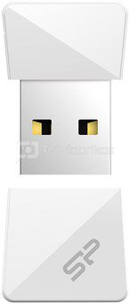 Silicon Power flash drive 32GB Touch T08, white