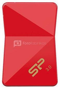 Silicon Power flash drive 64GB Jewel J08 USB 3.0, red
