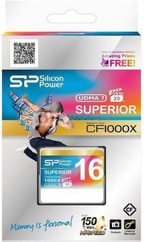 Silicon Power memory card CF 16GB 1000x