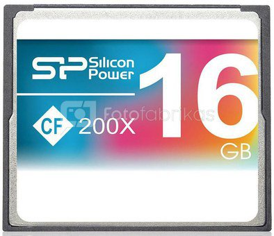 Silicon Power memory card CF 16GB 200x