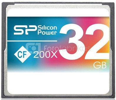 Silicon Power memory card CF 32GB 200x