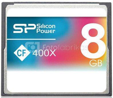 Silicon Power memory card CF 8GB 400x