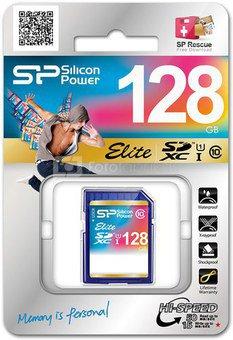 Silicon Power memory card SDXC 128GB Elite
