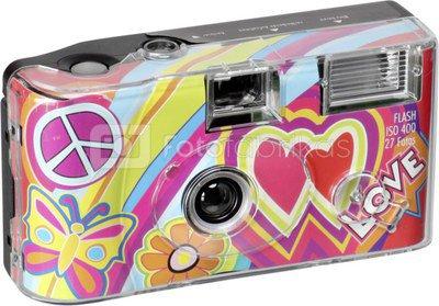 Single Use Camera Flash 400 27 love red