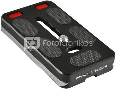 SIRUI QUICK RELEASE PLATE TY-70