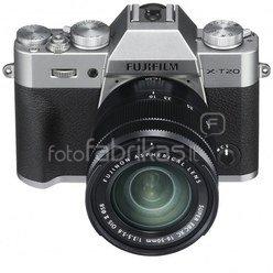 FujiFilm X-T20 + 16-50mm XC (sidabrinis)