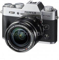 FujiFilm X-T20 + 18-55mm (Sidabrinis)