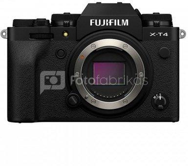 Sisteminis fotaparatas Fujifilm X-T4 juodas