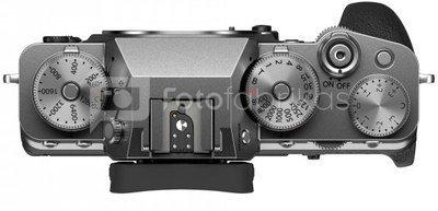 Sisteminis fotaparatas Fujifilm X-T4 sidabrinis