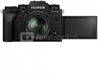 Sisteminis fotaparatas Fujifilm X-T4 + XF18-55 juodas