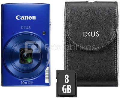 Canon IXUS 190 Essential Kit (mėlynas)