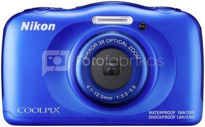 Nikon Coolpix W100 (mėlynas)