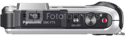 Panasonic DMC-FT5 (sidabrinis)