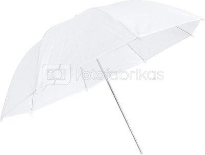 Skėtis baltas (peršviečiamas) 110cm