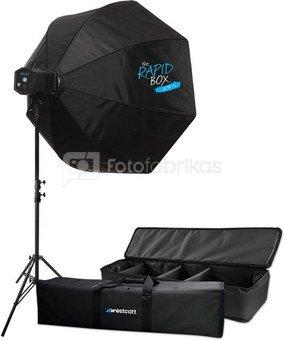 """Westcott Skylux LED with 36"""" Rapid Box XL Kit"""