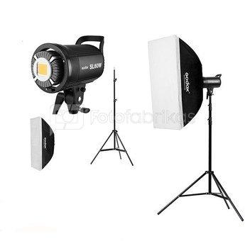 Godox SL60W Trio kit   Video Light