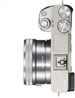 Sony Alpha 6000 Kit silver + SEL-P 16-50