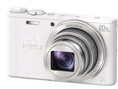 Sony DSC-WX350W (baltas)