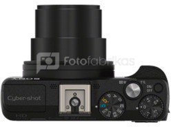 """Sony DSC-HX60V Compact camera, 20.4 MP, Optical zoom 30 x, Digital zoom 120 x, ISO 3200, Display diagonal 3.0 """", Wi-Fi, Video recording, Rechargeable, Black"""