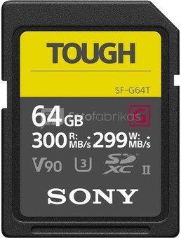Sony карта памяти SDXC 64GB G Tough UHS-II C10 U3 V90
