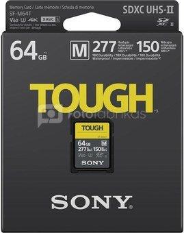 Sony memory card SDXC 64GB M Tough UHS-II C10 U3 V60