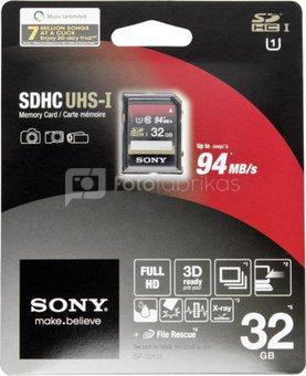 Sony SDHC card 32GB Class 10 / UHS I
