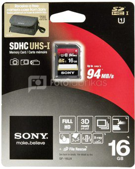 Sony SDHC Expert 16GB Class 10 UHS-I
