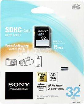 Sony SDHC Standard SD Card 32GB Class 4