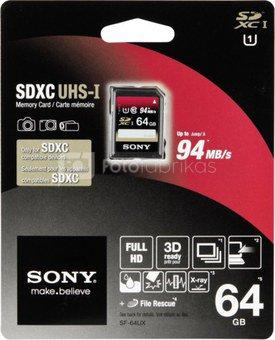 Sony SDXC Card 64GB Class 10 / UHS I