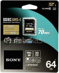 Sony SDXC Performance 64GB Class 10 UHS-I