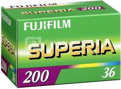 Fotojuosta FujiFilm Superia 200/135/36 kadrai