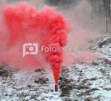 Spalvoti dūmai RDG1 Red