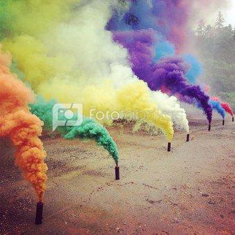 Spalvoti dūmai RDG1 Yellow