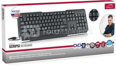 Speedlink keyboard Scripsi (SL-640003-US)