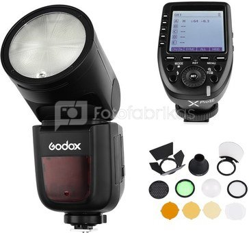 Godox Speedlite V1 Fuji X Pro Trigger Accessories Kit