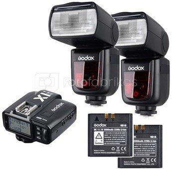 Godox Speedlite V860II Olympus/Panasonic Duo X1 Trigger Kit