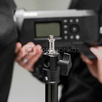 """Caruba spigot adapter 1/4"""" male   3/8"""" male (52mm)"""