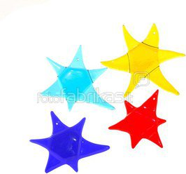 Stained glass star