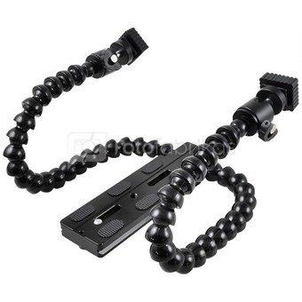 Caruba Statiefplaat   met flexibele accessoire armen (DMM 901)